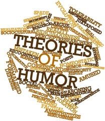 Word cloud for Theories of humor