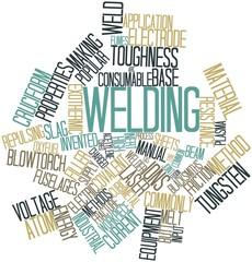 Word cloud for Welding