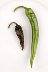 fresh an dry peperoni