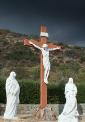 Life size Crucifixion Statues