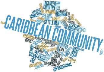 Word cloud for Caribbean Community