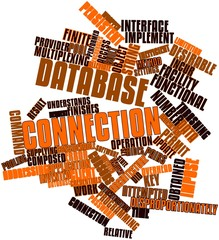 Word cloud for Database connection