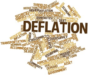 Word cloud for Deflation