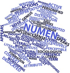 Word cloud for Numen