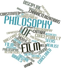 Word cloud for Philosophy of film