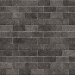 Brick wall grey
