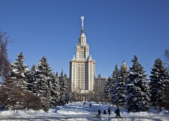 Moscow state University . Moscow, Russia