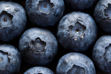 Blueberries closeup (macro)