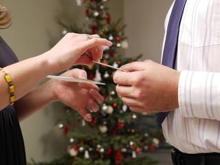 Christmas Eve wafer sharing