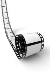 Blanko Filmrolle Weiß Schwarz 04