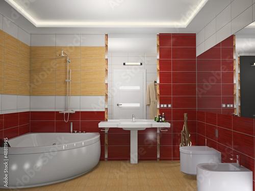 Дизайн ванной комнаты 3д фото