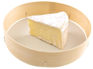 portion de fromage camembert