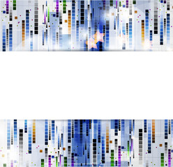 abstract blur computer technology business background
