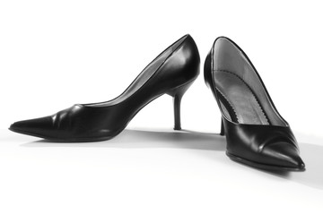 schwarze Damenschuhe