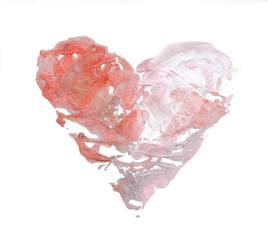 watercolor heart
