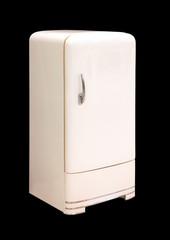 Vintage Things. Old Refrigerator