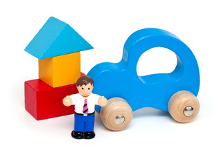 buying a car and a house