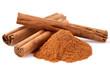 Cinnamon in closeup