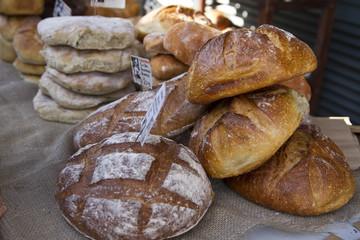 Fresh bread from the Borough Markets