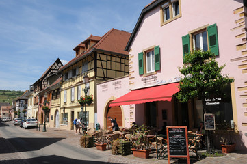 the village of Rouffach  in Alsace
