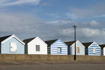 Beach Huts at Southwold, Suffolk, UK
