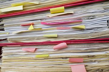 files in filefolders, close up