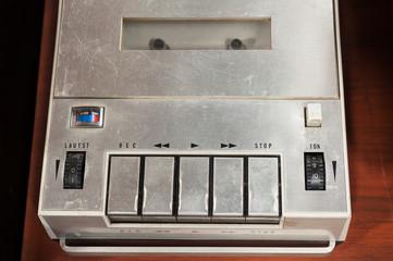Vintage audio recorder
