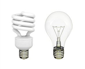 two lightbulb