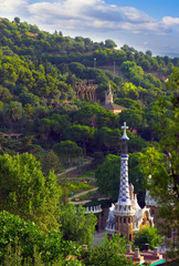 Landscaped Park Guell