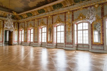 Ball hall in a palace