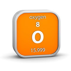 Oxygen material sign