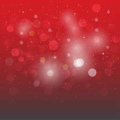 Red abstract vector background, background with brightness. Vect