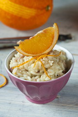 orange risotto