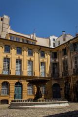 Place D'Albertas à Aix en Provence