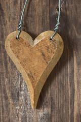 Wooden Heart - Holzherz