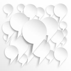 Vector  speech background