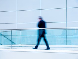 futuristic walkway