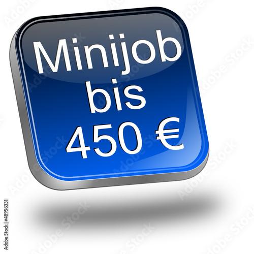 minijob bis 450 euro button stockfotos und lizenzfreie vektoren auf bild 48956331. Black Bedroom Furniture Sets. Home Design Ideas