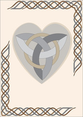Celtic Frame Heart