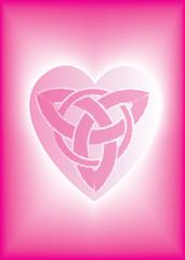 Celtic Tri Heart