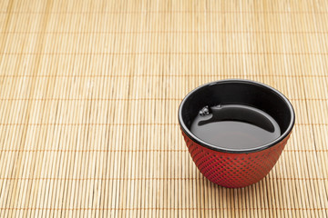 Japanese cup of tea