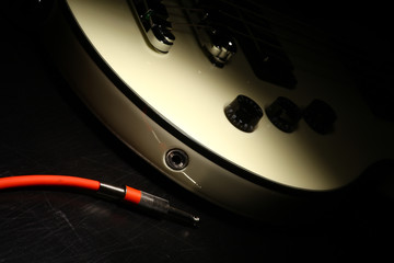 Guitar and wire