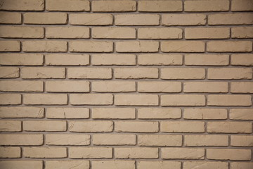 Gray brick wall pattern for background
