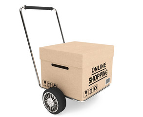 CardBox with cart