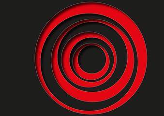 Cercles_rouge_Noir_Ombres