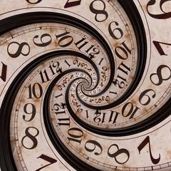 Foto op Canvas Spiraal Time spiral
