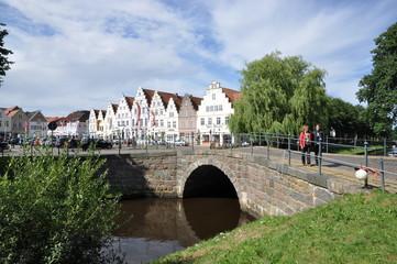 Steinbrücke in Friedrichstadt