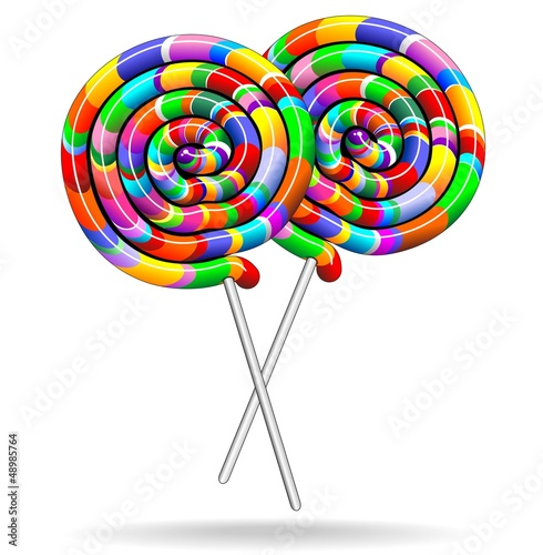 Lollipop rainbow colors lecca lecca chupa chupa for Scarica clipart