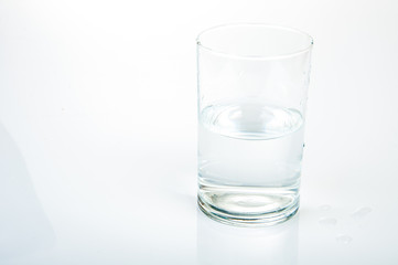 Half water glass
