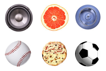 Rounded objects set